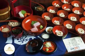 Wanko Soba: Món ăn thấm đẫm tinh thần Omotenashi